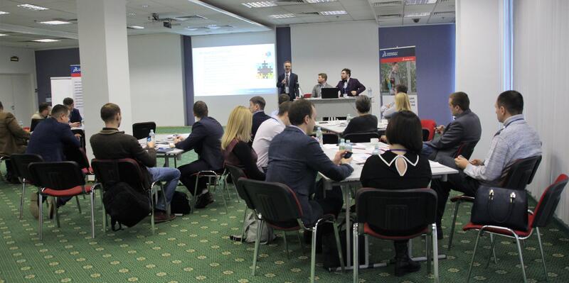 Выступление представителя Dassault Systèmes SOLIDWORKS Андрея Виноградова